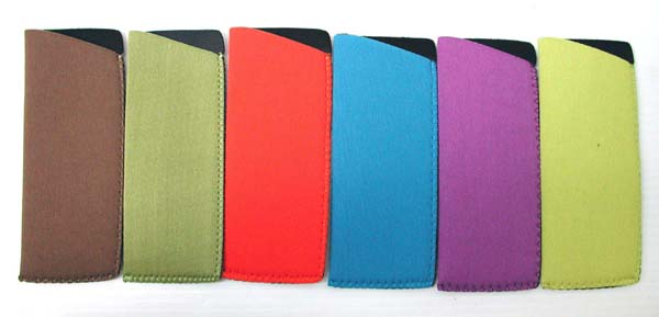 C-2 S - Assorted Neoprene Solid Colored Cases