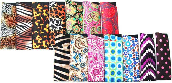 C-2 P - Assorted Neoprene Patterned Cases